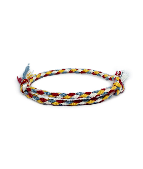BAHIA BOHO BRACELET RED/YELLOW/GREY