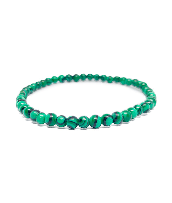 4 MM BEADS NAMASTE IMPERIAL GREEN