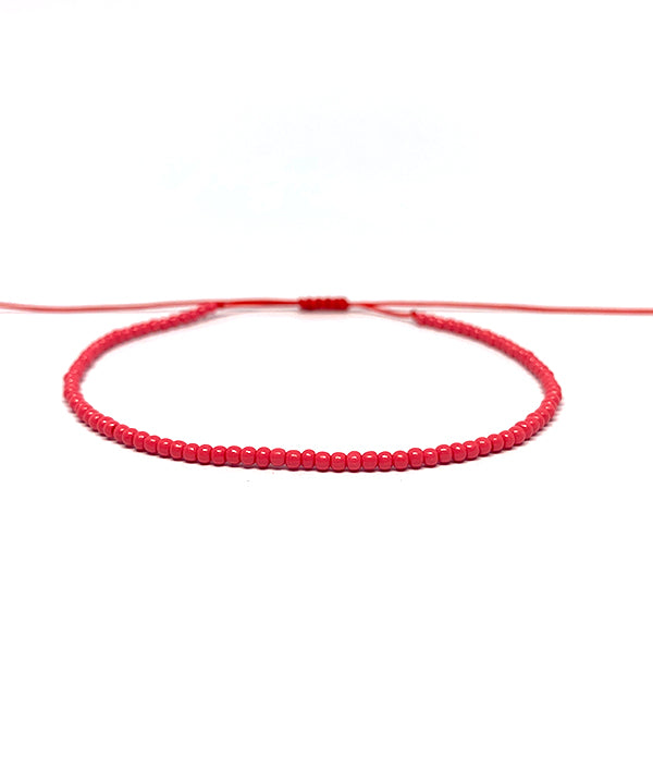 1MM BEADS CANCUN RED