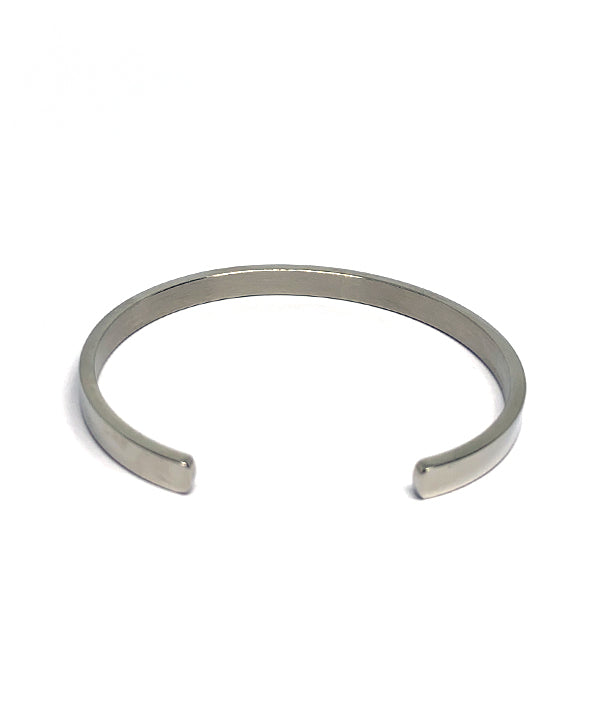 STEEL OPEN CUFF BANGLE