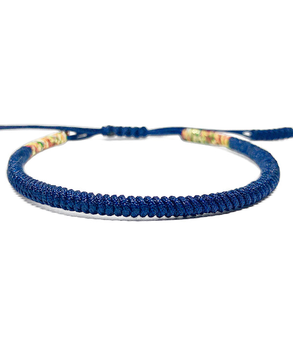 TIBETAN BUDDHIST LOVER DARK BLUE