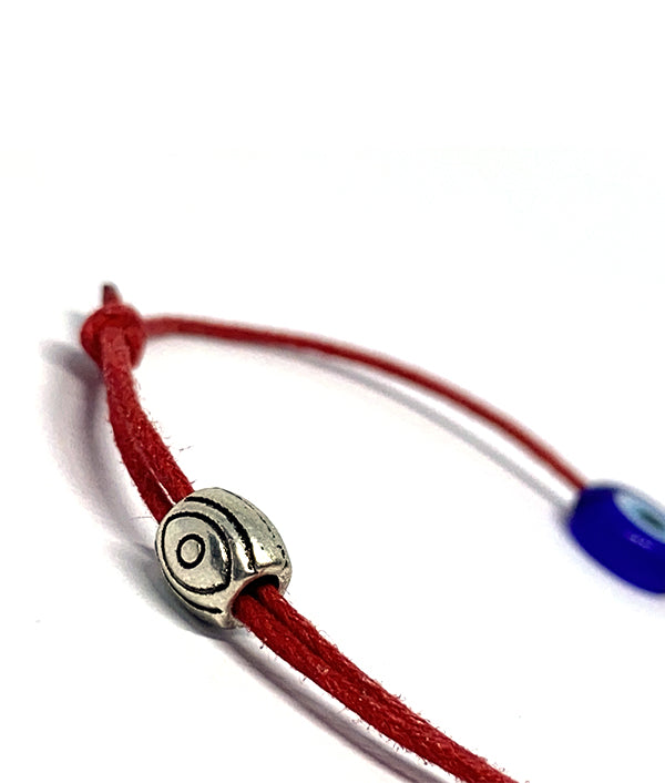 TURKISH EVIL EYE BRACELET RED