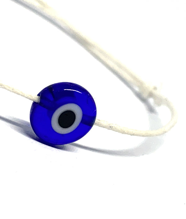 TURKISH EVIL EYE BRACELET WHITE