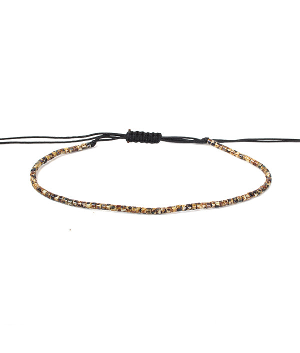 2 MM DISC BEADS POSITANO BROWN