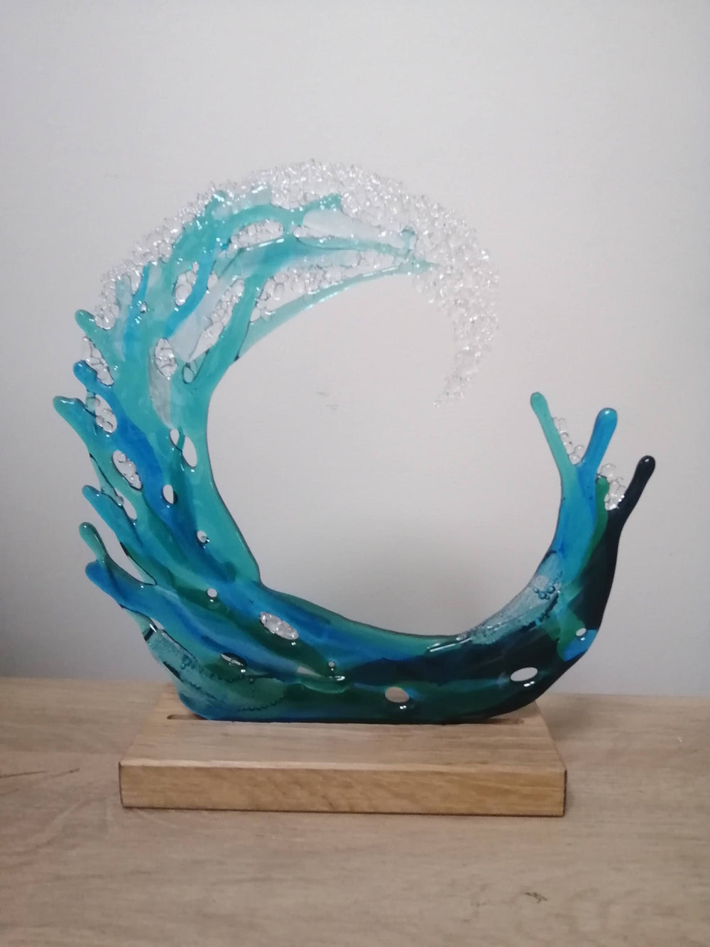 Sea Splash Glass Art