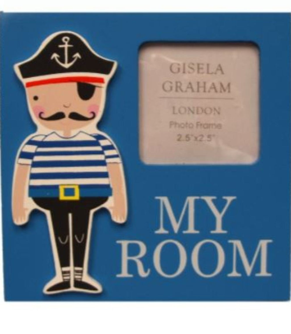 My Room Pirate Plaque