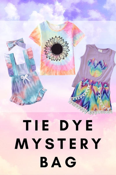 Tie Dye Mystery Bag 3 outfits or pieces Great Value M-390