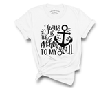 """Jesus Is The Anchor To My Soul"" Tee"