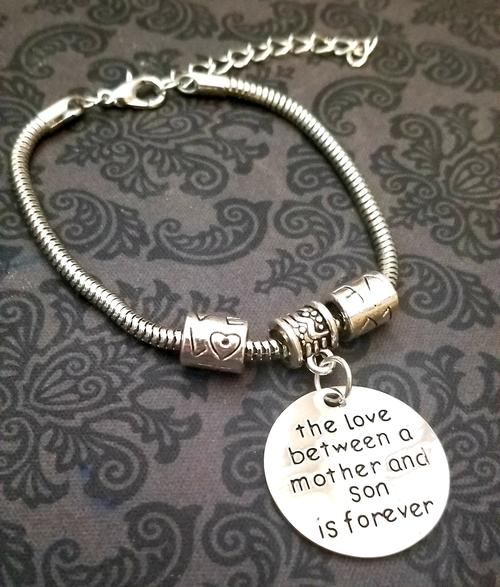 Love Between Mother & Son Bracelet