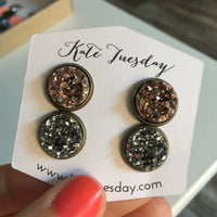 Alex Druzy Earrings Set