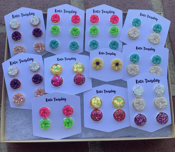Spring Earrings Box