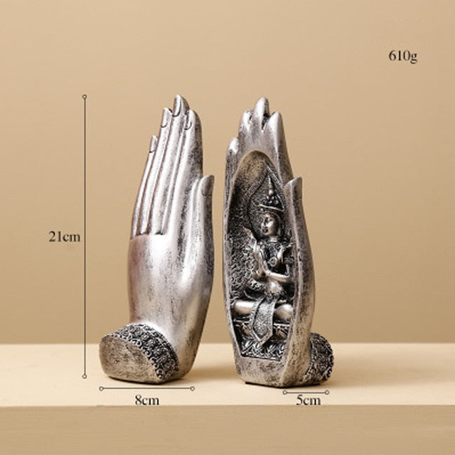 The Hands of Buddha