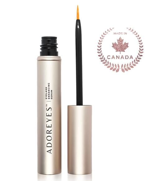 made in canada adoreyes lash growth serum for eyelashes and brows