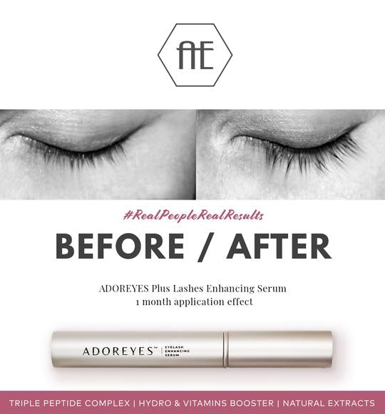 brow and lash growth serum adoreyes eyenvy made in canada free of parabens safe to use