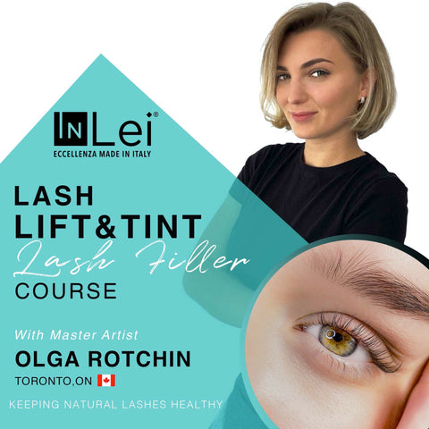 brow lamination and lash lift training, brow lamination and lash lift course Toronto Canada