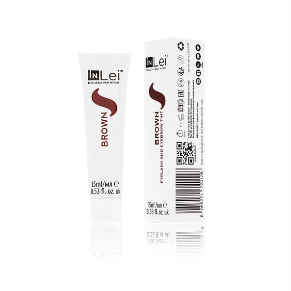 Teinture pour les cils et les sourcils Quebec Canada buy InLei tint for eyelaahes and eyebrows
