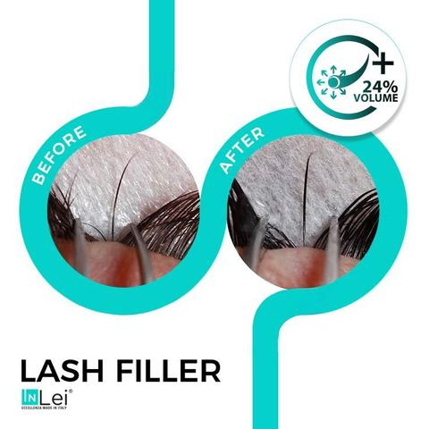 Inlei lash lift before and after lash lift kit