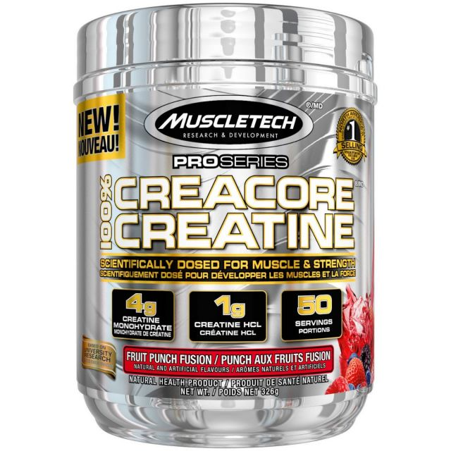 MUSCLETECH CREACORE 50 SERVE - FRUIT PUNCH