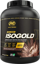 Load image into Gallery viewer, PVL 100% WHEY ISOGOLD - PREMIUM ISOLATE PROTEIN 5LB