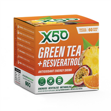 Load image into Gallery viewer, X50 GREEN TEA 60 serve