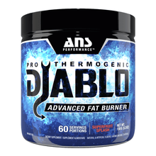 Load image into Gallery viewer, ANS PERFORMANCE DIABLO V2 THERMO POWDER 60 SERVE