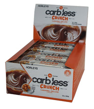 Load image into Gallery viewer, HORLEYS CARB LESS CRUNCH BARS BOX OF 12