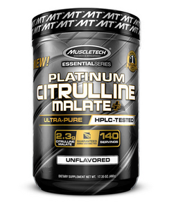 MUSCLETECH PLATINUM CITRULLINE MALATE 140 SERVE