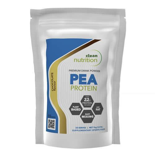 CLEAN NUTRITION PEA PROTEIN 1KG