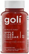 Load image into Gallery viewer, GOLI APPLE CIDER GUMMIES (Back in stock July)