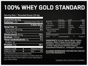 OPTIMUM 100% WHEY GOLD STANDARD 10LB