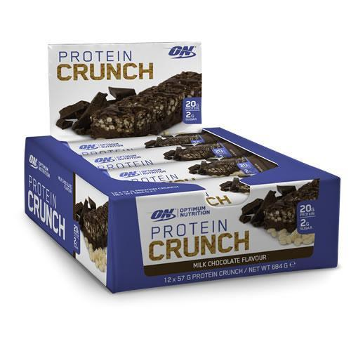 OPTIMUM NUTRITION PROTEIN CRUNCH BAR SINGLE