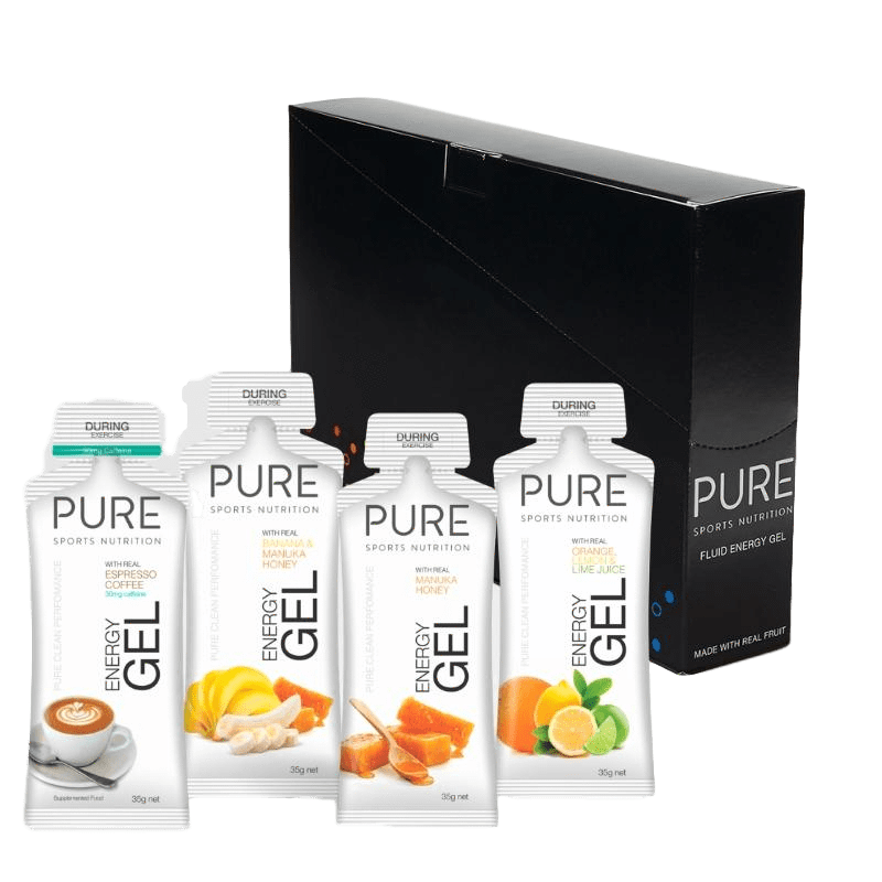 PURE ENERGY GELS 24 BOX