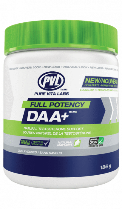 PVL FULL POTENCY DAA+ TESTOSTERONE BOOSTER