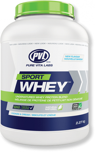 PVL GRASS FED 100% SPORTS WHEY PROTEIN 5lb