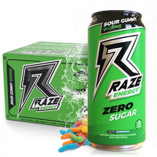Load image into Gallery viewer, RAZE ENERGY ZERO SUGAR RTD 12 PACK