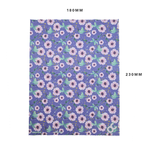MICROFIBER CLEANING CLOTH - FLORAL