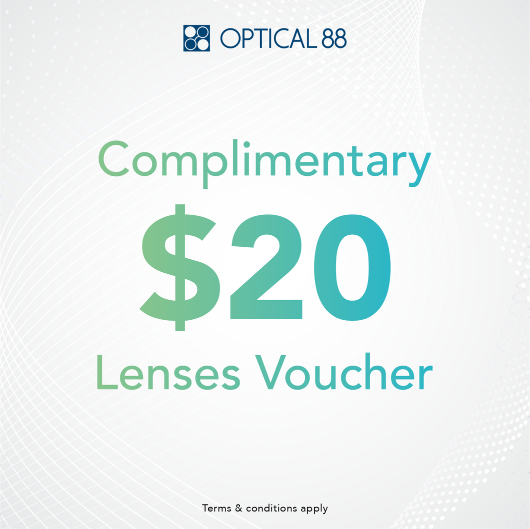 $20 LENSES VOUCHER