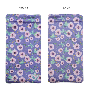 MICROFIBER CLEANING POUCH - FLORAL