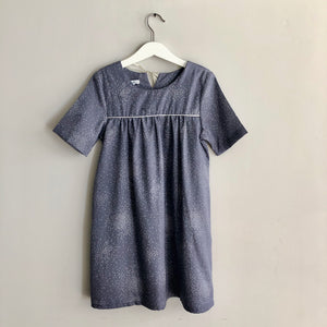 Kids Arcade - Mauve dress with short sleeves