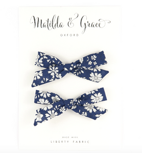 Matilda & Grace - Liberty print Hair clips