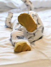 Load image into Gallery viewer, Little Woodlands - Organic sleepsuit Fox design