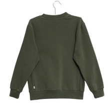Load image into Gallery viewer, Wheat DK - Khaki sweatshirt with badges