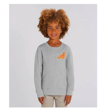 Load image into Gallery viewer, Grey marl Organic Sweatshirt