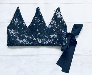 Mia Moo - Sequin Crown