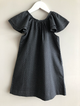 Load image into Gallery viewer, Kids Arcade charcoal grey Ruffle dress