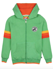 Load image into Gallery viewer, St Berts - Green zip up Hoodie