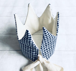 Mia Moo - Gingham Crown