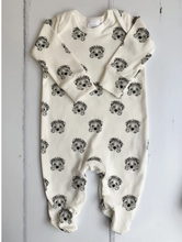 Load image into Gallery viewer, Little Woodlands - Organic hedgehog Sleepsuit