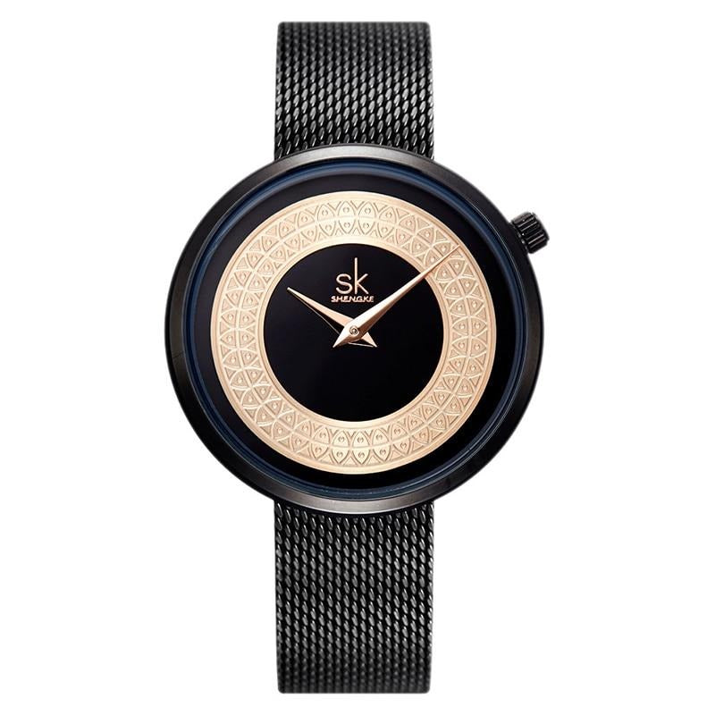 Charlotte Black Rose Watch
