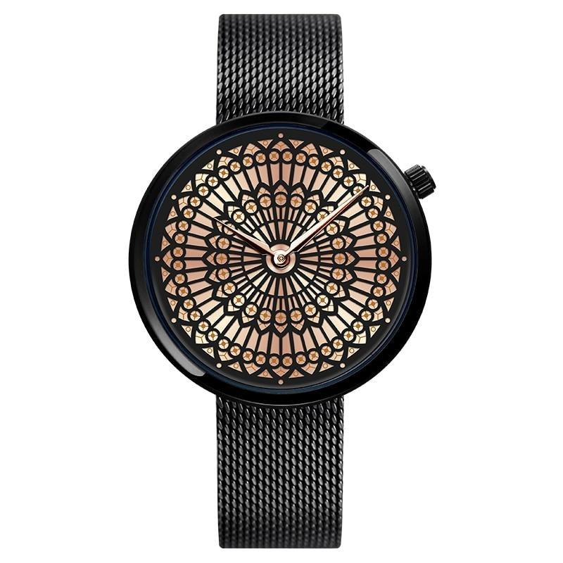 Feminino Mandala watch